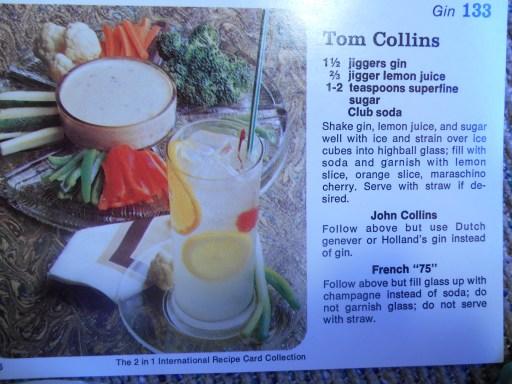 Tom Collins Recipe