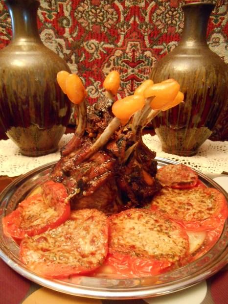 Stuffed Roast Crown of Pork