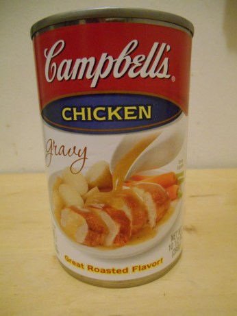 canned gravy