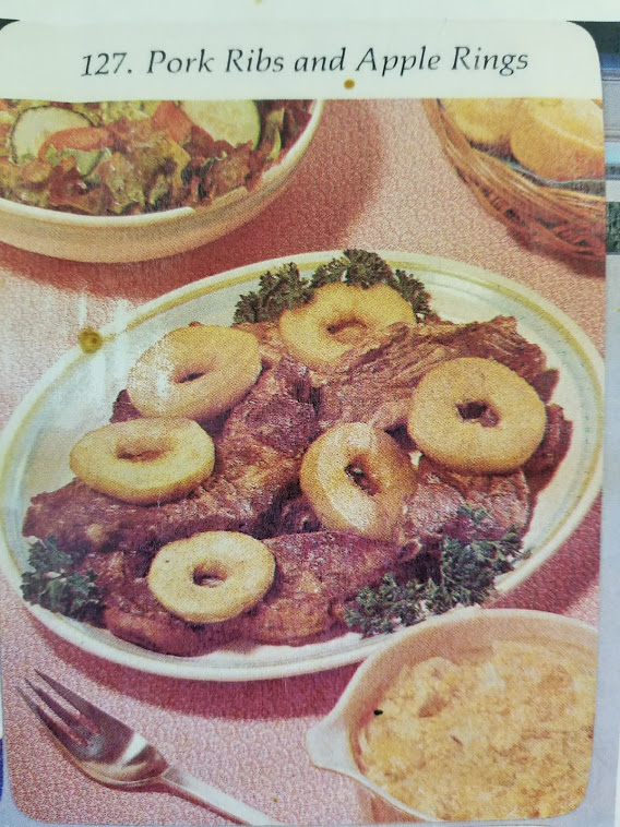 127. Pork Ribs and Apple Rings