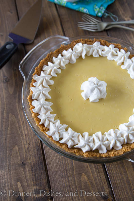 Key Lime Pie - creamy, sweet, tart and perfect for spring