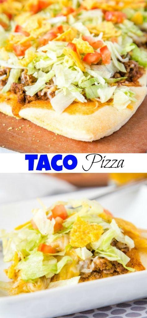 Happy Joes Taco Pizza
