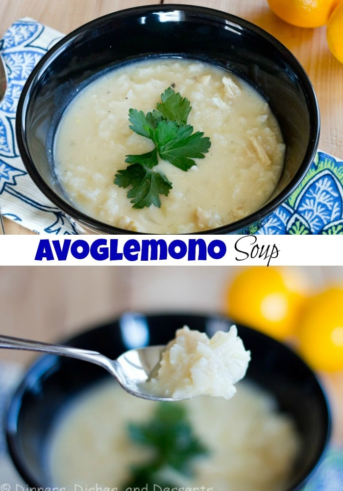 Home » Avgolemono Soup MARCH 2, 2012 (EDIT)  AVGOLEMONO SOUP This post may contain affiliate links. Please see my disclosure policy. Pin Tweet Share X Avgolemono Soup – a classic Greek soup that is light, delicious and the perfect way to warm up on a cold day.  A lemon chicken and rice soup you are going to love!