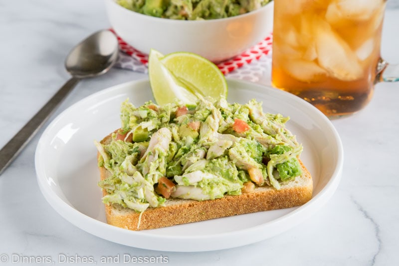 avocacdo chicken salad horizontal picture