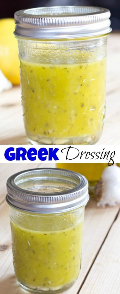 Greek Dressing collage pin