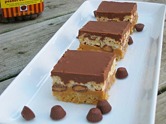 Peanut Butter Lover's Rice Krispie Treats