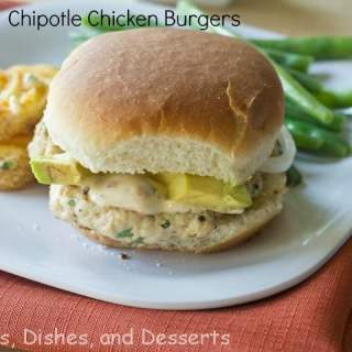 Chipotle Chicken Burgers