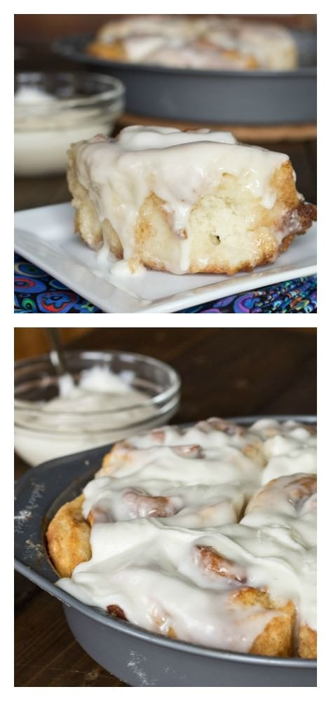 Cinnamon Rolls ready in less than 60 minutes!