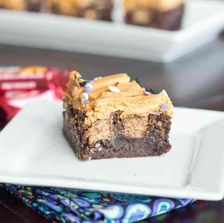 Kit Kat Butterscotch Brownies