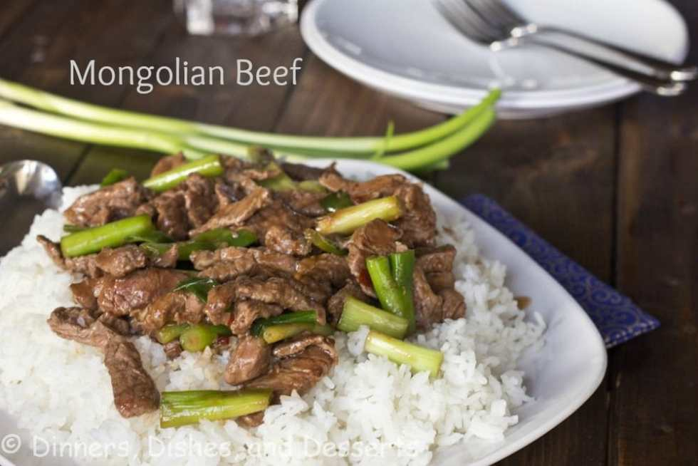 Mongolian Beef - A super fast (under 20 minutes), and healthy Asian beef stir fry. Faster and better than calling for take out