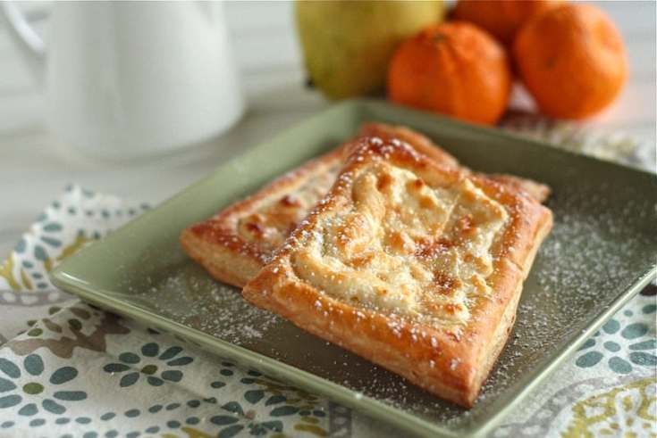 Quick Cream Cheese Danishes