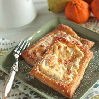 Quick and Simple Cheese Danish