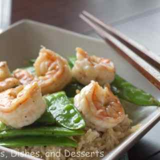 Black Pepper Caramel Shrimp