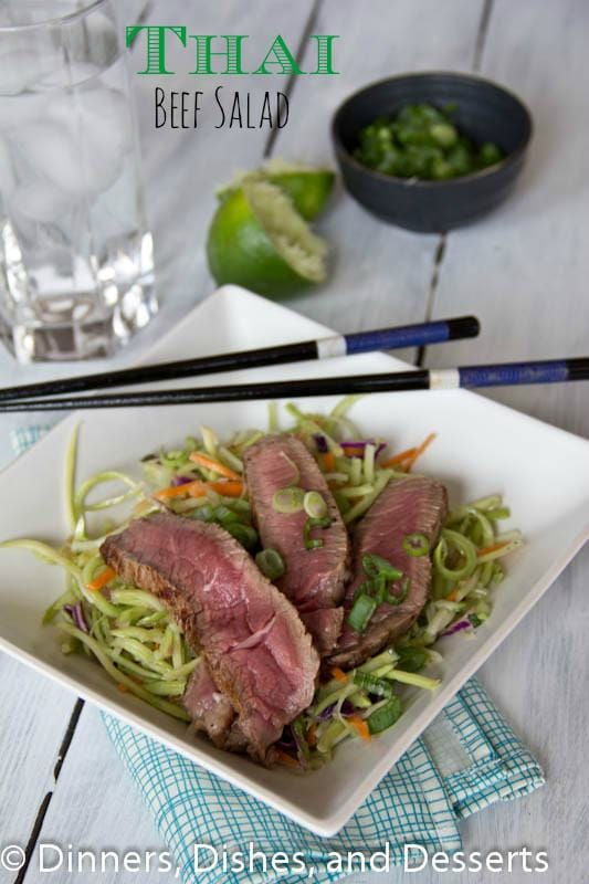 Thai Beef Salad   Dinners, Dishes, and Desserts