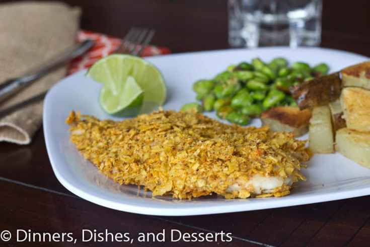 Tortilla Crusted Fish