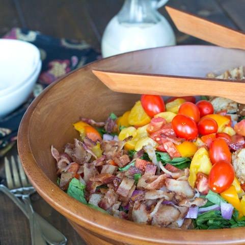 4th of July BLT Salad