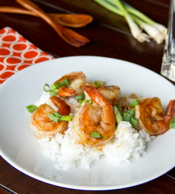 Hoisin Glazed Shrimp