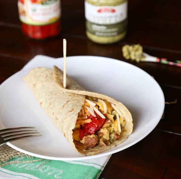 Chorizo and Egg Wrap