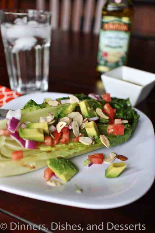 Grilled Romaine Salad