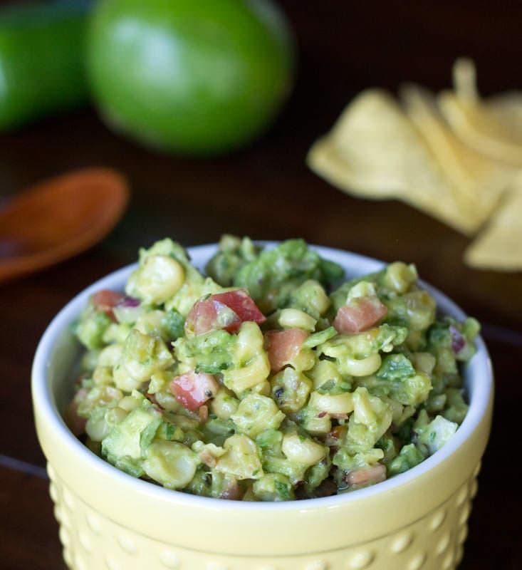 Roasted Corn & Avocado Salsa