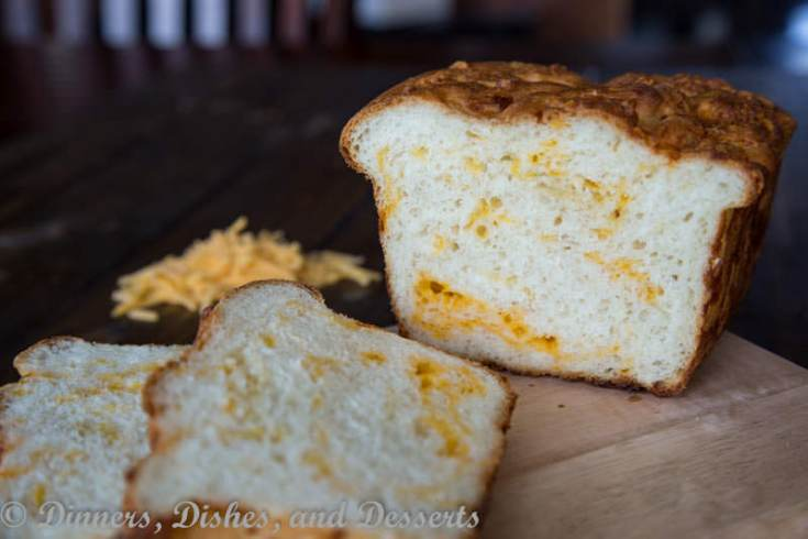 cheesy english crumpet bread on a plate