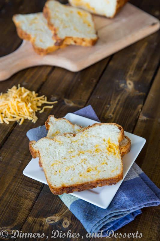 Cheesy English Crumpet Bread