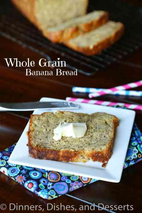 Whole Grain Banana Bread