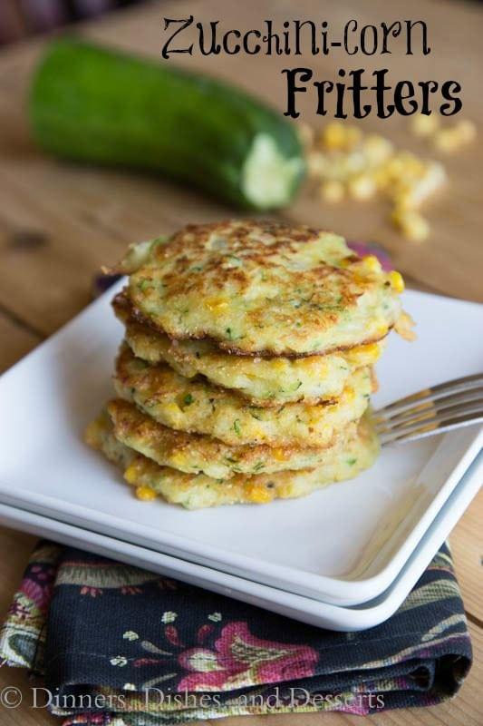 Zucchini Corn Fritters