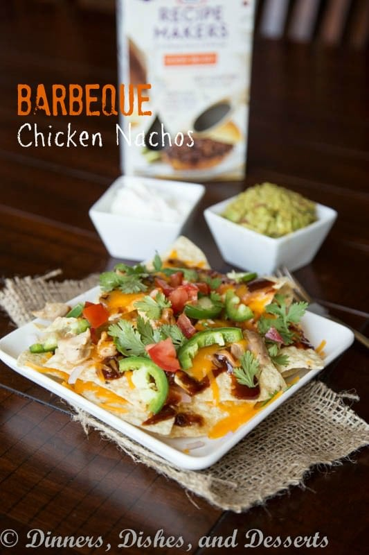 Barbeque Chicken Nachos