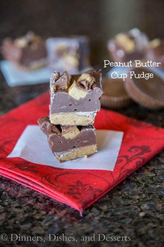 Peanut Butter Cup Fudge