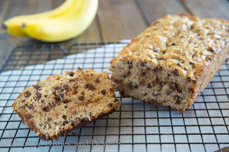 Whole Wheat Coconut Banana Bread
