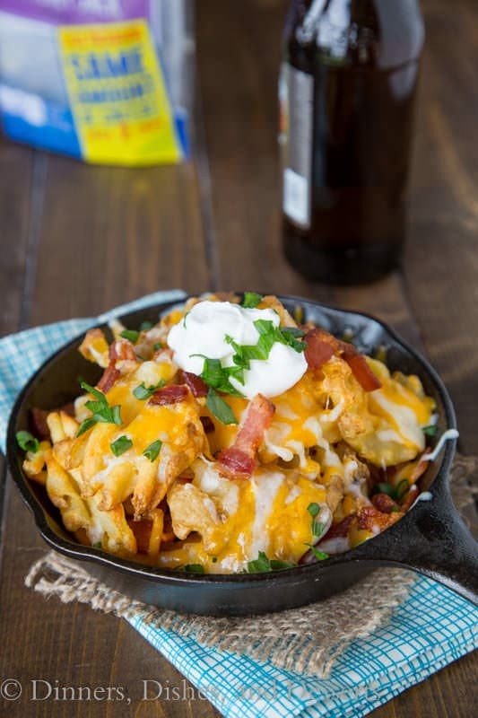 Idaho Nachos {Dinners, Dishes, and Desserts}