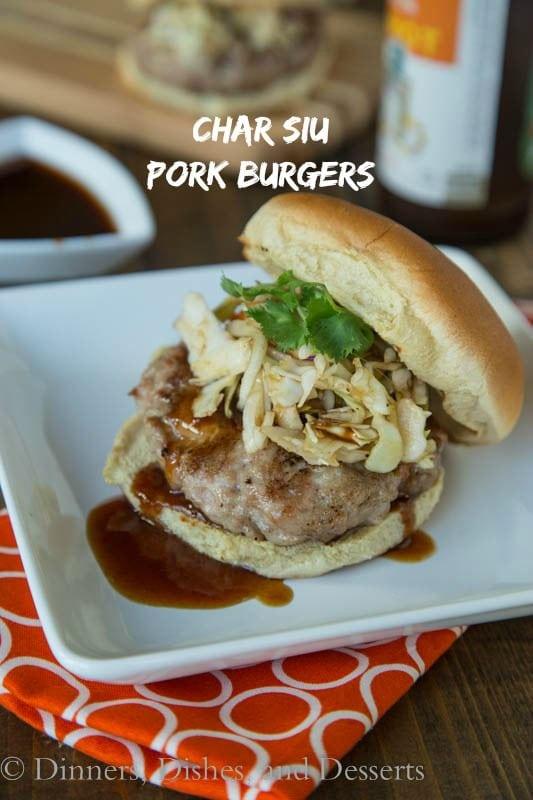 Char Siu Pork Burgers - an Asian favorite turned into a burger!