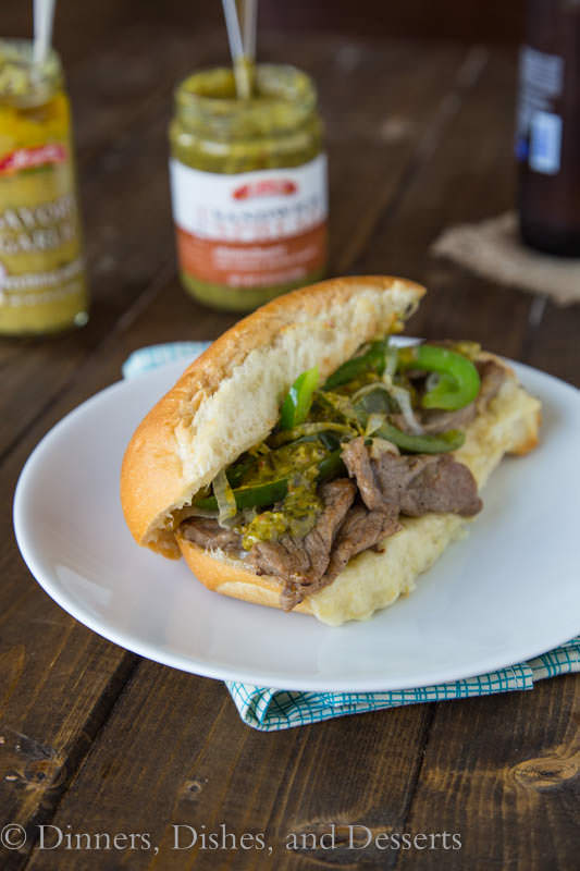Cheesy Steak Sandwiches - and a chance to win $25,000 with @mezzetta_foods