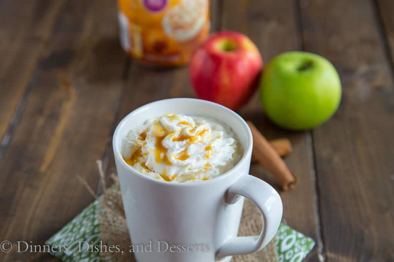 Hot Caramel Apple Cider {Dinners, Dishes, and Desserts}