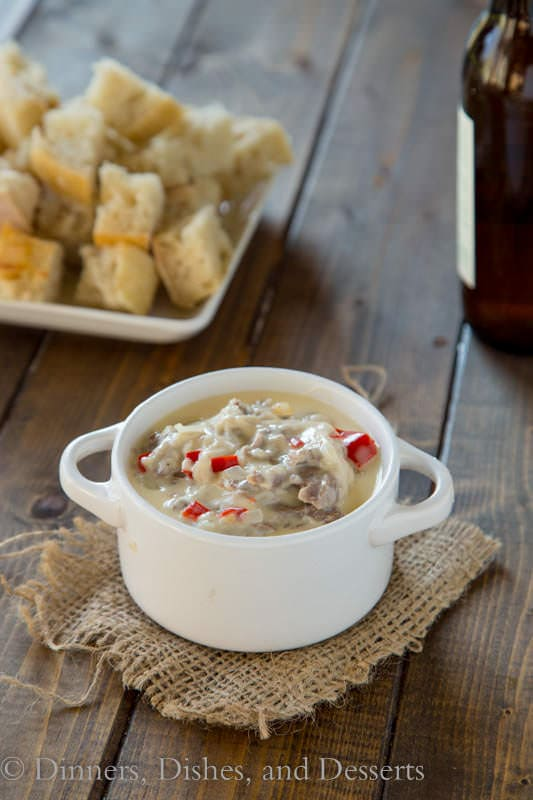 Philly Cheesesteak Dip - perfect dip for any get together