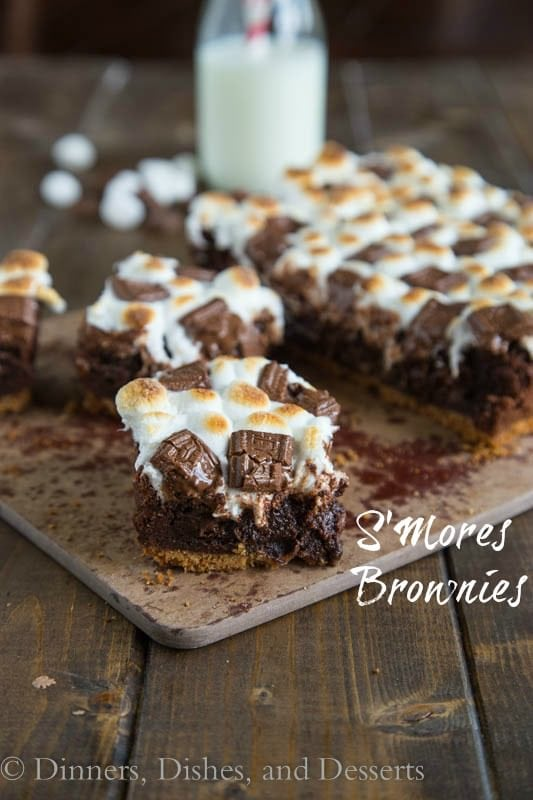 S'mores Brownies - rich, chocolatey, heaven!