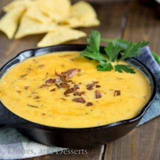 Chorizo Queso Dip {Dinners, Dishes, and Desserts}