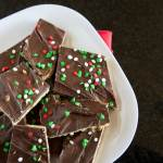 Chocolate Saltine Toffee (aka Christmas Crack) - an easy candy for the holiday season