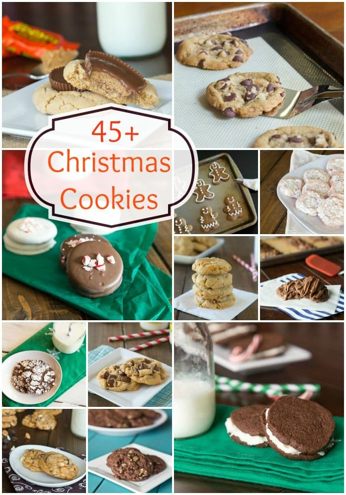 45+ favorite cookies for the holidays!
