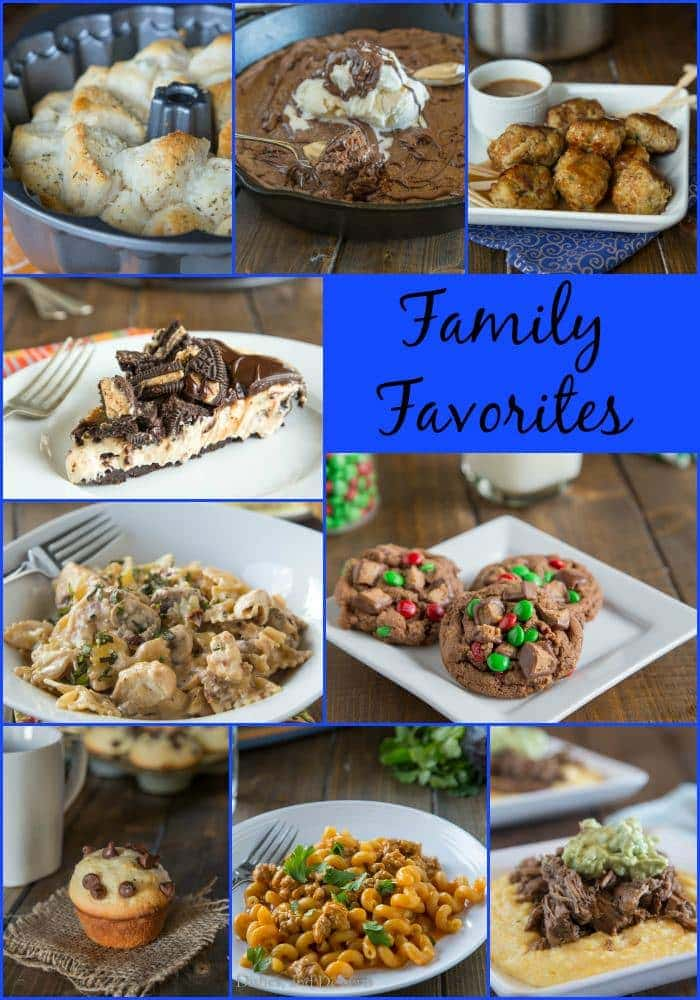 Some of my families favorite recipes from 2014