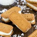 Creamy coconut filling sandwiched between 2 Biscoff cookies- this sweet treat is ready in minutes and sure to please a crowd!