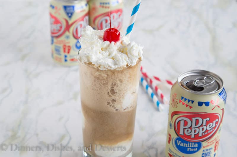 dr pepper limited edition vanilla float