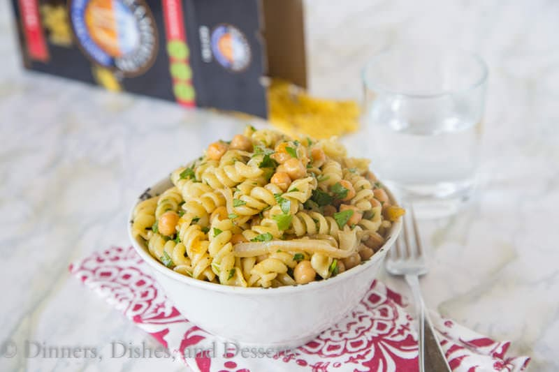 Middle Eastern Pasta Salad {Dinners, Dishes, and Desserts}