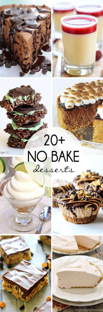 20+ No Bake Desserts that are perfect for summer!