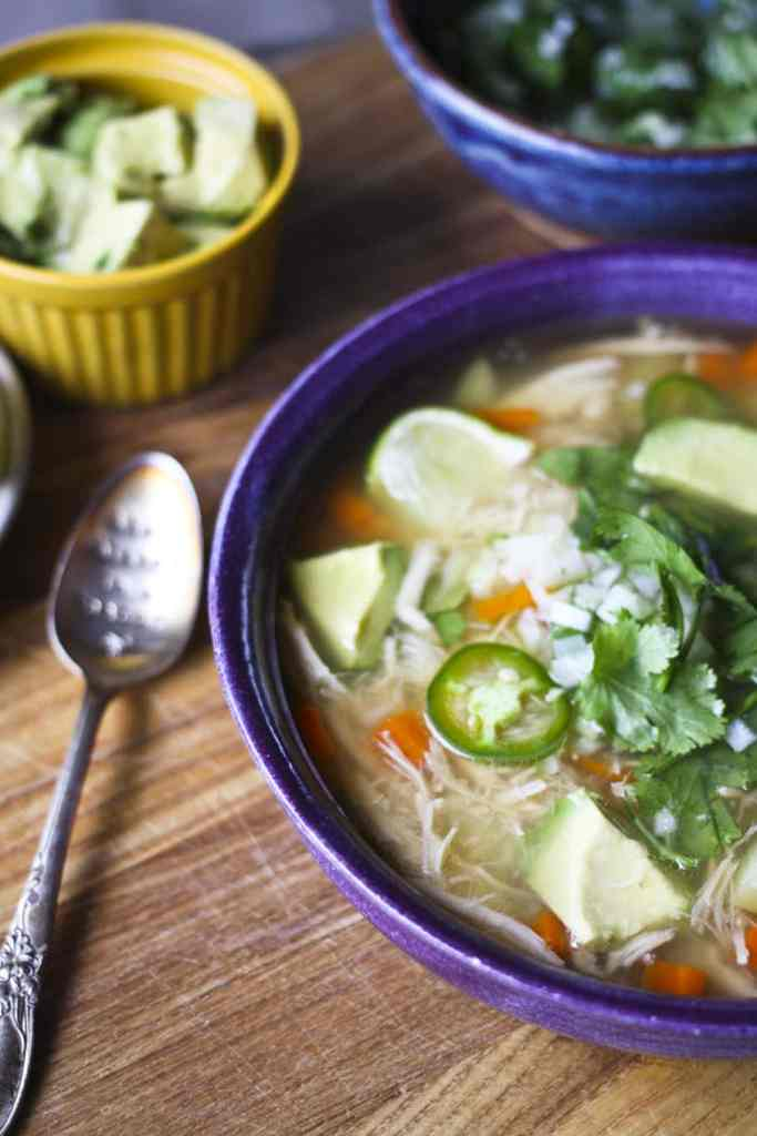 Mexican Chicken Soup {Foodie with Family}