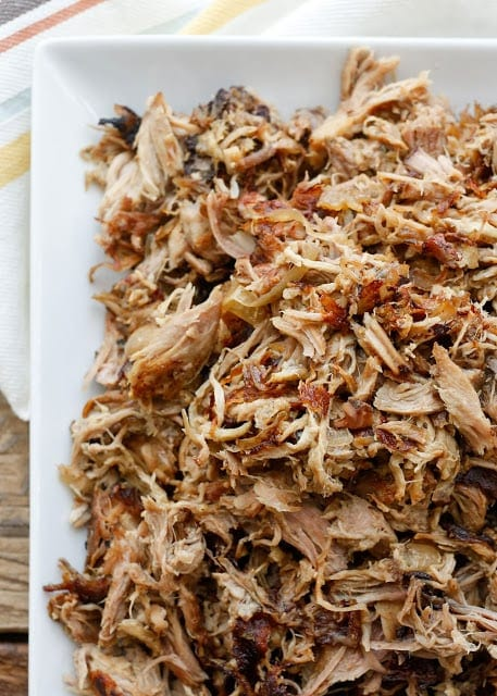 Slow Cooker Pork Carnitas {Barefeet in the Kitchen}