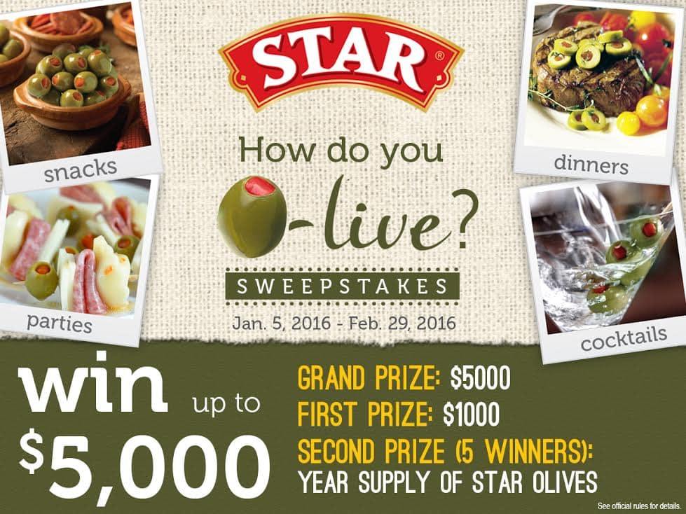 Olive Sweepstakes