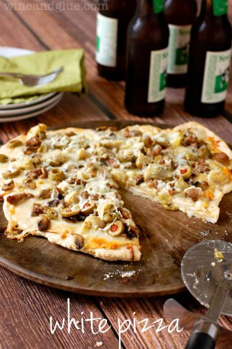 White Pizza {Wine and Glue}