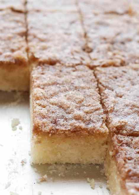 Cinnamon Toast Bars {Barefeet in the Kitchen}
